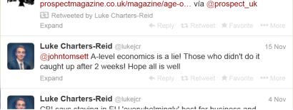 Luke tweet