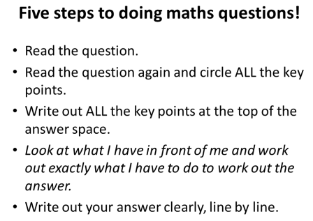 maths sequence