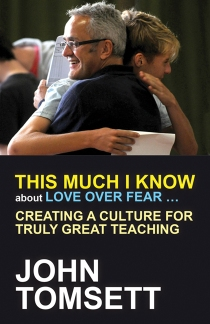 Image of This Much I Know About Love Over Fear front cover