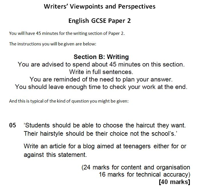 this much i know abouta stepbystep guide to the writing question  even if the ideas the students have are a little thin if they can express  them deliberately in a style which suits their fap they can score highly